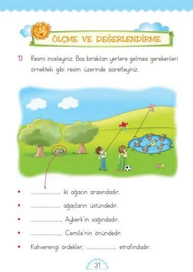 1. Sınıf Matematik Ders Kitabı